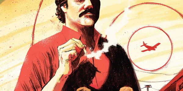 Narcos #1, from IDW, is about cartels. Things start up for us in 1991, in Medellin, Columbia. A car bomb. Then, an American effort in Bogota, to combat the drug […]