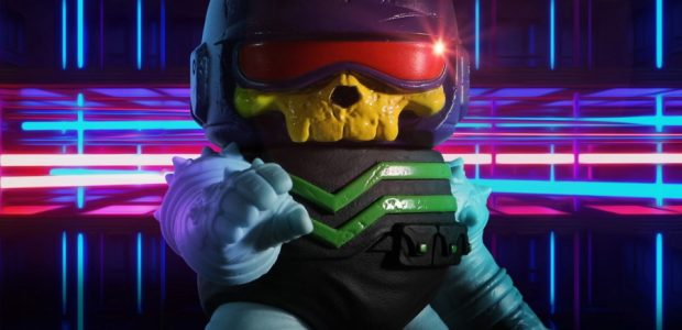 Designed by soft toy mad scientist, John Santagada, and inspired by things from the 1980s, Radioactive Uppercut and Rumble Society present: Cyber Ryder – Skeletron Edition. Before the fall, a […]