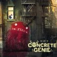 Dark Horse Comics releases an artbook which is about bringing your creations to life as in graffiti style in The Art of Concrete Genie.