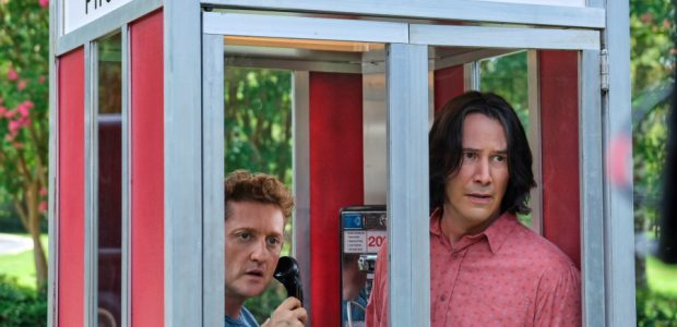 """Orion Pictureshas released the official first look images for BILL & TED FACE THE MUSIC! The stakes are higher than ever for the time-traveling exploits of William """"Bill"""" S. Preston […]"""
