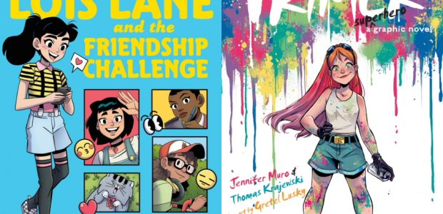 Sharing the latest news and first looks regarding two new middle grade graphic novels from DC! In Lois Lane and the Friendship Challenge, bestselling Lumberjanes co-writer Grace Ellis and artist […]
