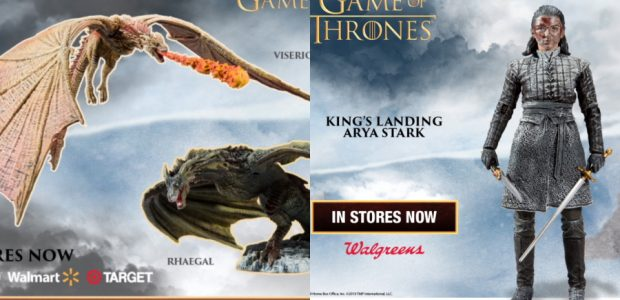 McFarlane Toys' Dragon and Figure Collectible Line is Continued Featuring Rhaegal and New Versions of Viserion and Arya Stark! Winter is coming, which means the newest line of Game Of […]