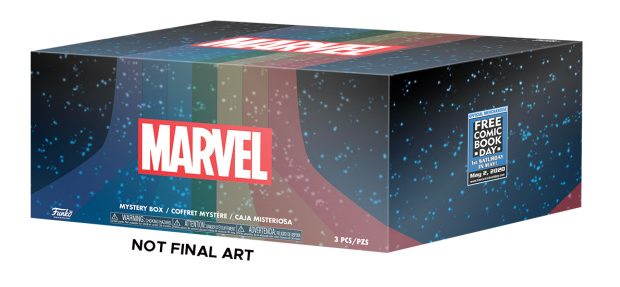 Exclusive Marvel Mystery Boxes from Funko Lead Free Comic Book Day 2020 Merchandise Selections Free Comic Book Day is proud to announce the upcoming release of this year's Free Comic […]