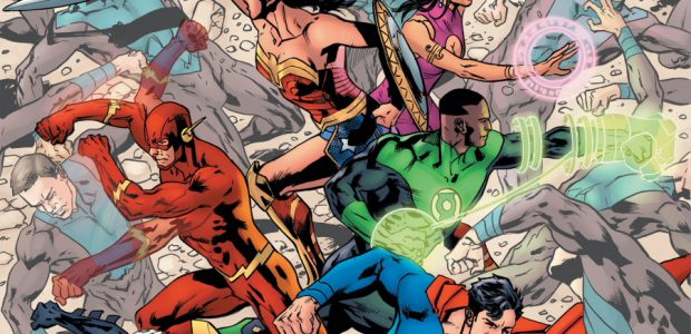 """""""Invasion of the Supermen"""" begins with the Eradicator! A new era of Justice League starts with an unexpected arrival from the stars, bringing a dire warning: a new breed of […]"""