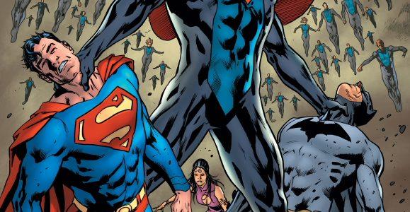 "The Eradicator and His Supermen Continue their Assault on the Justice League! Robert Venditti, Aaron Lopresti, Matt Ryan and David Baron continue the ""Invasion of the Supermen"" in Justice League […]"
