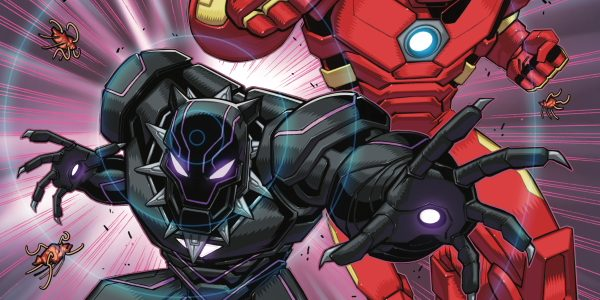 """If you're looking for action, IDW Marvel's """"Marvel Action: Avengers #9"""" surely delivers. or is that 'sorely' delivers. Punches, pounding, thumping, kerranggging. Written by Matthew K. Manning, with art by […]"""