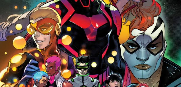 The lives of your favorite super heroes are changing forever! When a law is passed outlawing teenage vigilantes, the already-high stakes facing Ms. Marvel, Miles Morales, Ironheart, and more will […]