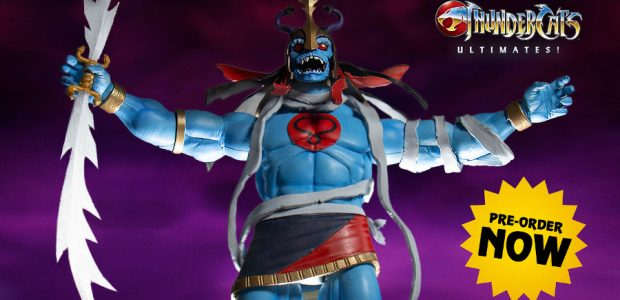 """Thunder… Thunder… Thunder…"" Super7's Brian Flynn introduces the latest Thundercats to the Super7 ULTIMATES! world! Super7 is proud to announce Wave 2 of the ULTIMATES! Thundercats! Joining the Super7 ULTIMATES! […]"