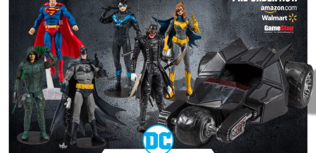 Collector Figures and Vehicle Available for Pre-order Now; In-stores Jan 2020 McFarlane Toys, Warner Bros. Consumer Products, and DC, today revealed images and details of the highly anticipated new DC […]