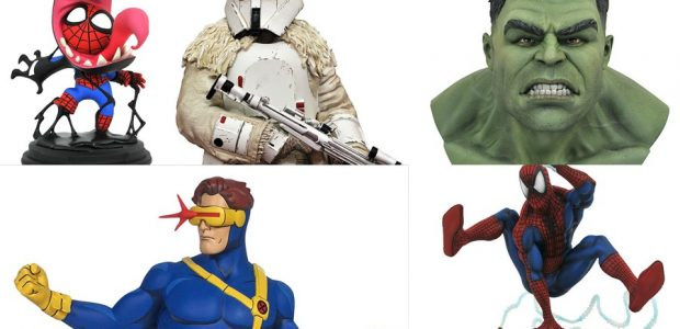 2020 is here, and the first collectibles of the year are from Diamond Select Toys and Gentle Giant Ltd.! Shipping on January 1, comic shops across the country received products […]