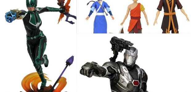 2020 just keeps getting better! This week, three new action figures from Avatar: The Last Airbender and two new Marvel Gallery Dioramas from the Avengers movies will have you heading […]