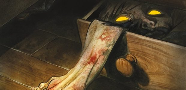 The First Half of the Highly Acclaimed, Eisner-Nominated Horror Fantasy Tale, Collected in a Value-Priced Omnibus Cullen Bunn and Tyler Crook's award-winning horror series, Harrow County, gets collected as Harrow County Omnibus […]