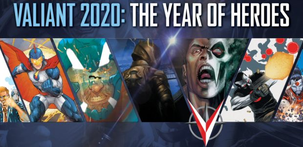 Valiant 2020: The Year of Heroes has begun! To celebratethe ambitious year fullof brand-new stories, we've joined forces with our friends at the YouTube channel ComicPOP to create a trailer […]
