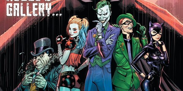 As Catwoman and Harley Quinn fight for their lives at the Gotham Cemetery, Batman seeks out The Riddler's whereabouts across Gotham. If anyone has the answers for who the Designer […]