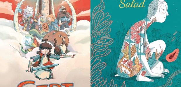 """Middle-Grade Graphic Novel """"Gert and the Sacred Stones"""" and Multi-Cultural War Story 'Papaya Salad' Arrive Summer 2020 From Italian publisher Tunué, creators Marco Rocchi and Francesca Carità, and translatorJamie Richards […]"""