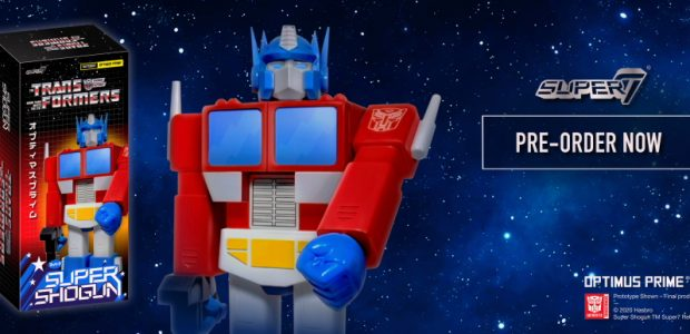Super7 is expanding its license with Hasbro, Inc. on an incredible fan favorite: Super Shogun TRANSFORMERS Optimus Prime! This oversized figure is available for preorder only, and exclusively at select partner […]