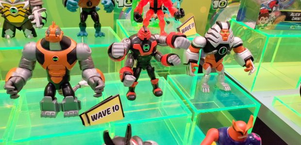 Playmates show us that girls can fight too! Playmates is known as the Teenage Mutant Ninja Turtles company, and that brand is still going strong. With more figures based on […]