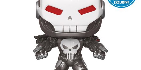 The Punisher Suits Up as War Machine for a New PREVIEWS Exclusive Funko Pop! For years, Frank Castle has been fighting his one-man war as the Punisher, but when he's […]