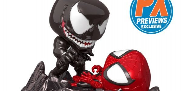 An epic Marvel Comics battle is recreated in the equally epic Funko Pop! Style with this PREVIEWS Exclusive Pop! Comic Moment Spider-Man Vs. Venom! Featuring a special rocky diorama base and two full-sized […]