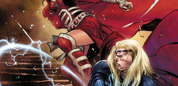 Writer Donny Cates and artist Nic Klein's critically acclaimed run on THOR continues next month as the crushing weight of Thor's new responsibilities as King of Asgard AND Herald of […]