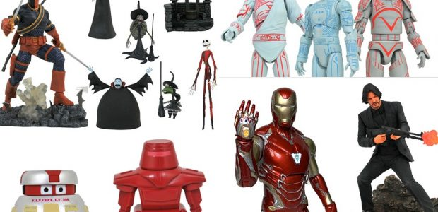 "It's almost Valentine's Day, and what better way to say ""I love you,"" than with the gift of Diamond Select Toys? Ten new items hit stores today from DST, and […]"