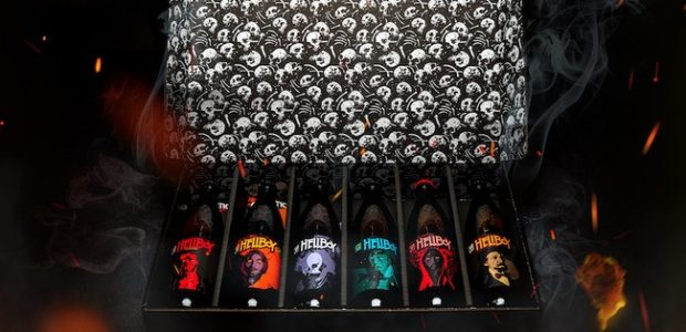 666 Limited Edition Boxes of Hellboy Beer Featuring Bottle Art by Mike Mignola colored by Dave Stewart Oregon's Gigantic Brewing and Dark Horse Comics are teaming up to create 666Limited […]