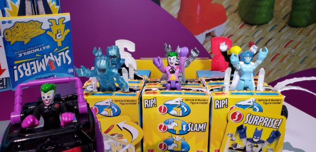 Mattel shows off some new properties, as well as some old favorites. One of the bigger things at the Mattel booth this year was the Minions: Rise of Gru toys. […]