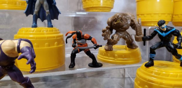 Spin Masters shows off it's new DC Heroes collection! The license has changed hands and now Spin Master is producing DC Comics toys for the boy's isle! The toy are […]