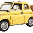 Today, LEGO added another classic to its automotive roster—the Fiat 500 just got the LEGO brick treatment.