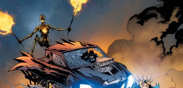 Swamp Thing + Wonder Woman = Death Metal Monster Truck Rally! Get ready to scream! Wonder Woman roars across the horrifying Dark Multiverse landscape in the world's most demented monster […]