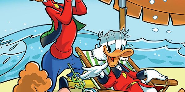 Maybe it's time for March break, and maybe with the Covid-19 virus circulating, it's time for Gyro And The Surprise Staycation! It's one of three stories in Disney Comics and […]