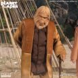 Leading member of the Ape National Assembly, the One:12 Collective Dr. Zaius is outfitted in a tunic shirt and overcoat with embossed detailing, and pleated pants.