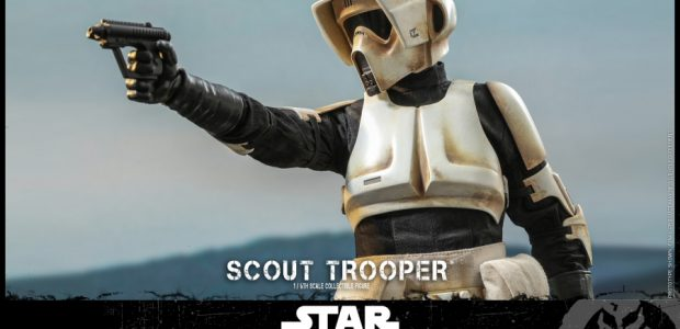Scout troopers were lightly armored compared with other stormtroopers, which allowed them to move more quickly and easily in a range of environments. They were also trained for more independence […]