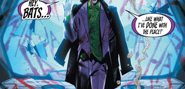 """""""The Joker War"""" Begins in Batman #95, On-Sale July 21 and Continues Across A Host of Tie-In Titles, Including Batgirl, Detective Comics and Nightwing Adam Strange Turns to Batman for […]"""