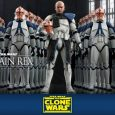 Clone Captain Rex served the Republic during the Clone Wars, often taking orders from Anakin Skywalker and Ahsoka Tano.