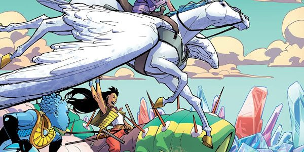 Like the jeweled presence it is, Amethyst #3 radiates this week from DC Comics. This supposed 'teen title' under the Wonder Comics imprint continues to impress me. Amethyst, the young […]