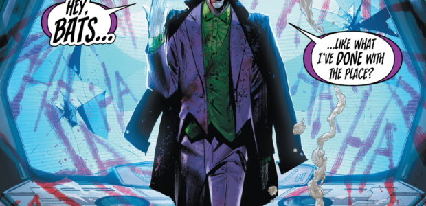 "It's coming… The final showdown between Batman and The Joker explodes in Batman #95, part one of ""Joker War,"" on sale Tuesday, July 21! Here's a look at some fantastic […]"
