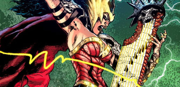 Swamp Thing, Wonder Woman and The Flash Meet the Justice Society of America in Dark Nights: Death Metal #2 First Look Plus, what's Lobo doing in space, who is the […]