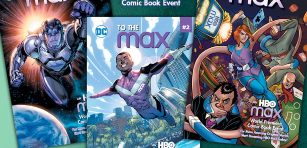 """Published By DC With Exclusive Cover Art By Jim Lee, Amanda Conner And Jorge Jimenez Three new comic book superheroes are taking it to the """"max"""" in the brand-new original […]"""