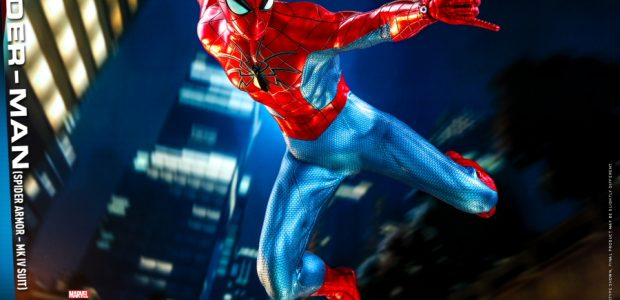 Developed by Peter Parker at Parker Industries, the Spider Armor – MK IV Suit is a high-tech variation of the classic red and blue costume with a distinct glowing spider […]