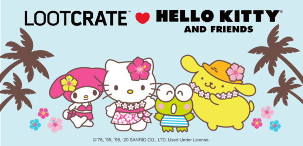 Have fun in the sun with Hello Kitty and Friends! Loot Crate is bringing the sunshine indoors with August's 'Hello Vacation!' themed Sanrio® Crate. Go for a swim, catch some […]