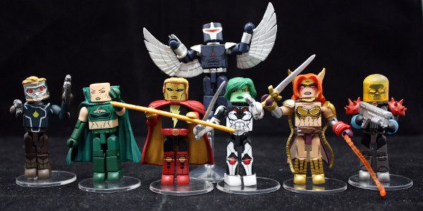 The Guardians of the Galaxy return to Minimates In 2019, Marvel ONCE AGAIN relaunched the Guardians of the Galaxy comic series. Written by Donny Cates and drawn by Geoff Shaw, […]