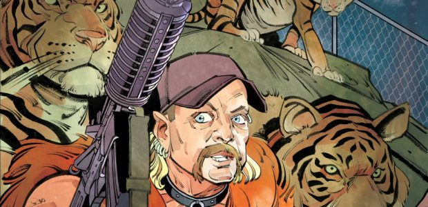 "TidalWave Productions will release a biography comic book ""Infamous: Tiger King"" on June 24th, inspired by the popular Netflix documentary series ""Tiger King."" The 24-page comic book flip-book biography was […]"