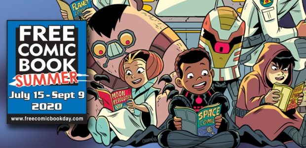 Every Day Can Be Free Comic Book Day During July and August! Free Comic Book Day, the comic book industry's largest annual promotional event, is traditionally scheduled to take place […]