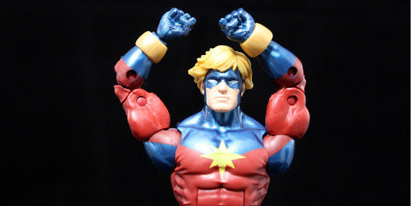 Welcome the most cosmic superhero of all to Marvel Legends: Captain Marvel!