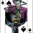 GET A FREE COMMEMORATIVE PLAYING CARD WITH EACH ISSUE OF BATMAN: THE THREE JOKERS!