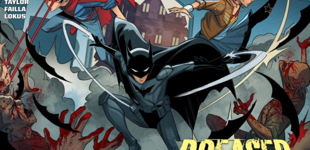"""Hell Yeah, Gotham"" The fifth chapter of DCeased: Hope At World's End has arrived! A new story featuring DCeased: Dead Planet's Trinity (Cassie Sandsmark, Damian Wayne and Jon Kent), set […]"