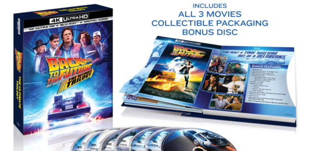IN HONOR OF BACK TO THE FUTURE'S 35TH ANNIVERSARY, ONE OF THE BIGGEST MOTION PICTURE TRILOGIES COMES TO 4K ULTRA HD FOR THE FIRST TIME EVER BACK TO THE FUTURE: […]
