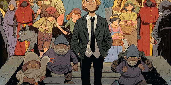 BOOM! Studios release a fantasy graphic novel where a modern human being from another world lives his life in a world of magic and monsters in Folklords. So, here's what […]