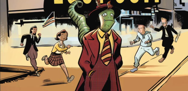 History, Race, and Science Fiction Collide In the New YA Graphic Novel by Latinx Cartoonist Marco Finnegan Across America, there's widespread unrest and growing racial tensions. On the morning of […]